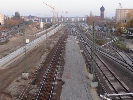 Fernbahn Ostkreuz-Warschauer Straße