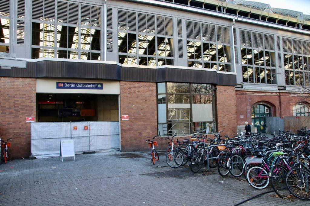 Der Ostbahnhof in Berlin Freidrichshain