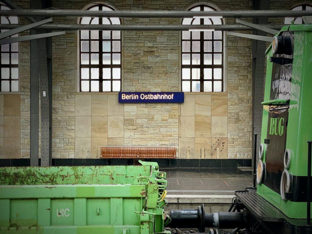 Hallendach Sanierung Berlin Ostbahnhof