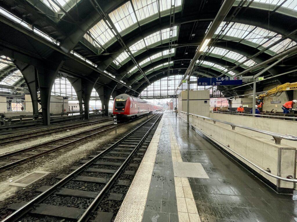 Berlin Ostbahnhof Zugdurchfahrt