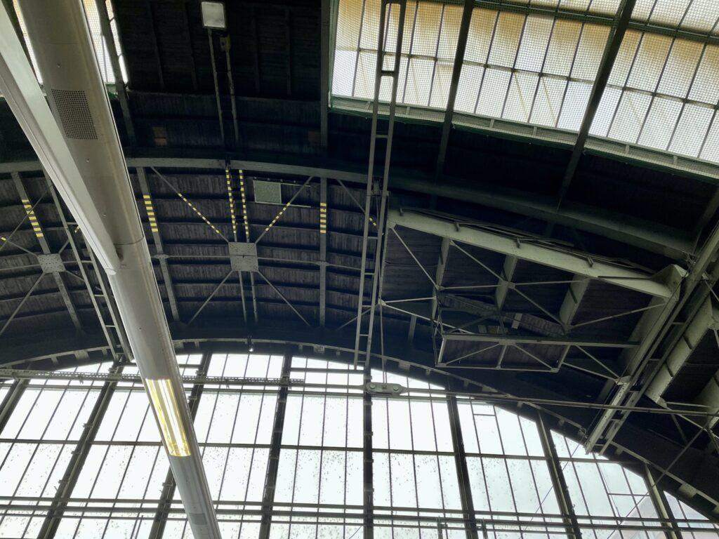 Hallendachsanierung Ostbahnhof