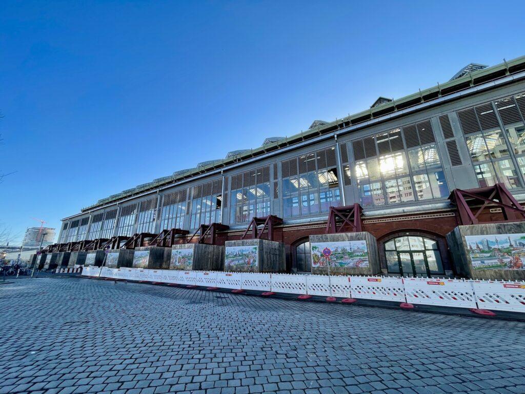Berlin Ostbahnhof von der Nordseite