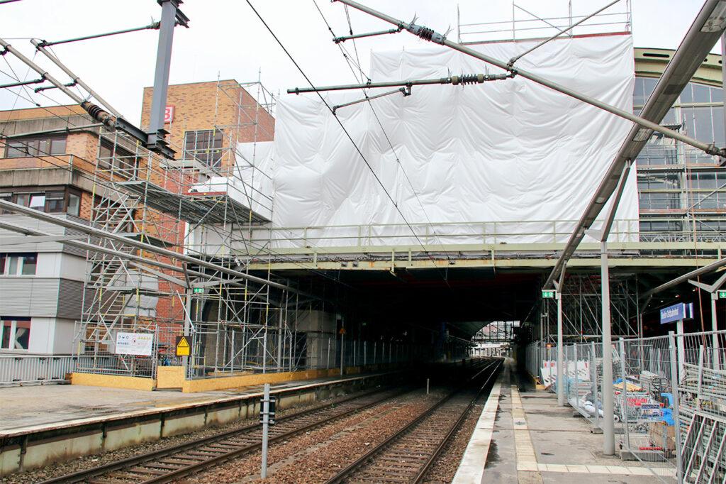 Hallendachsanierung Berlin Ostbahnhof